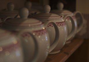 Für eine gute Kanne Tee ist immer Zeit...
